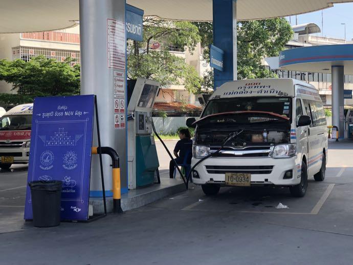 ガソリンスタンド
