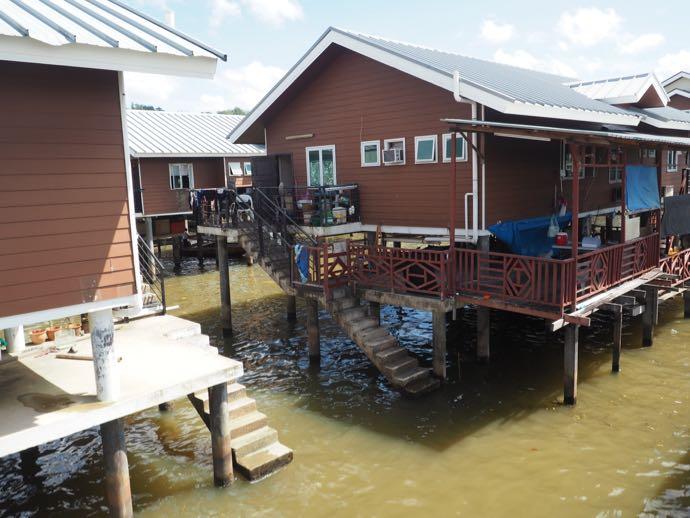 水上住宅は居心地が良い