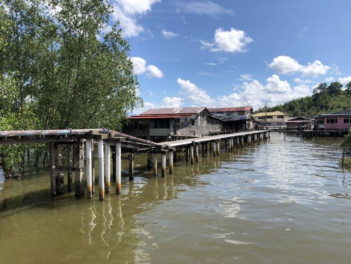 水上集落の橋