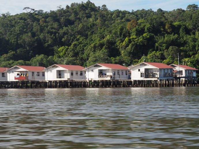 水上集落の住宅
