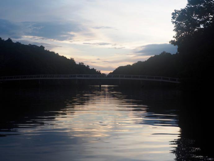静寂なブルネイ川