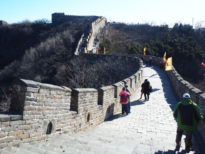 連なる城壁
