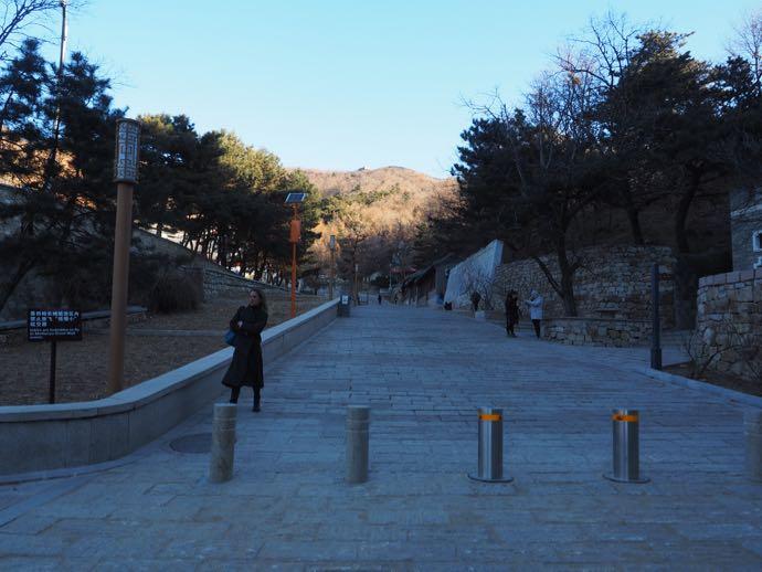 慕田峪長城の入り口