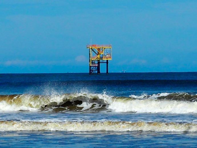 セリアの海上油田
