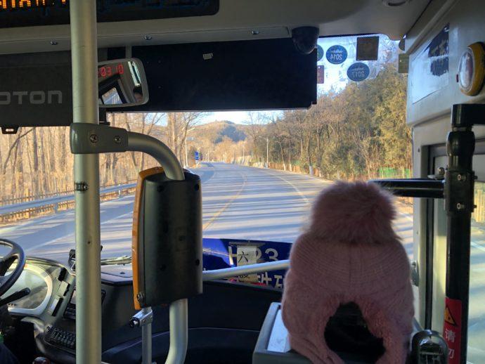 H23バスの車内