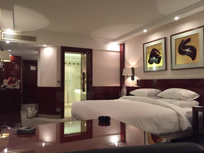 カサブランカのハイアットの部屋