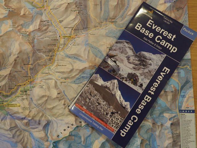 エベレスト地図
