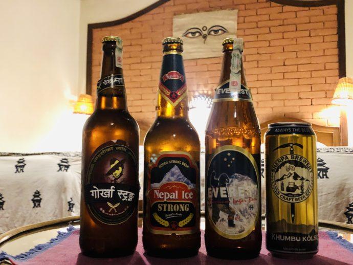 ネパールビールを飲み比べ