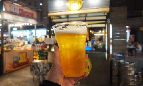 黄金色のビール