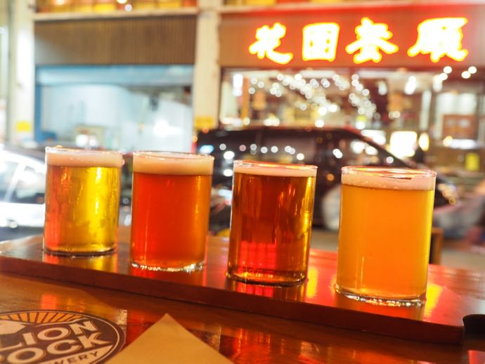 クラフトビール4種飲み比べ