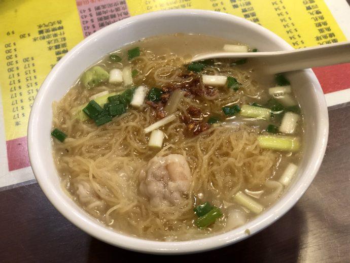 黄明記の雲呑麺