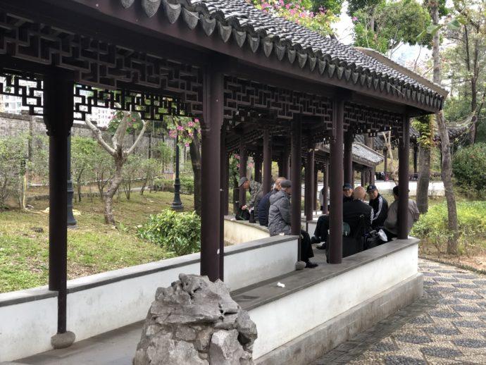 九龍寨城公園の回廊