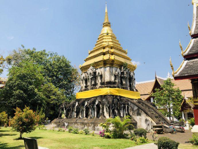 ワット・チェンマンの仏塔