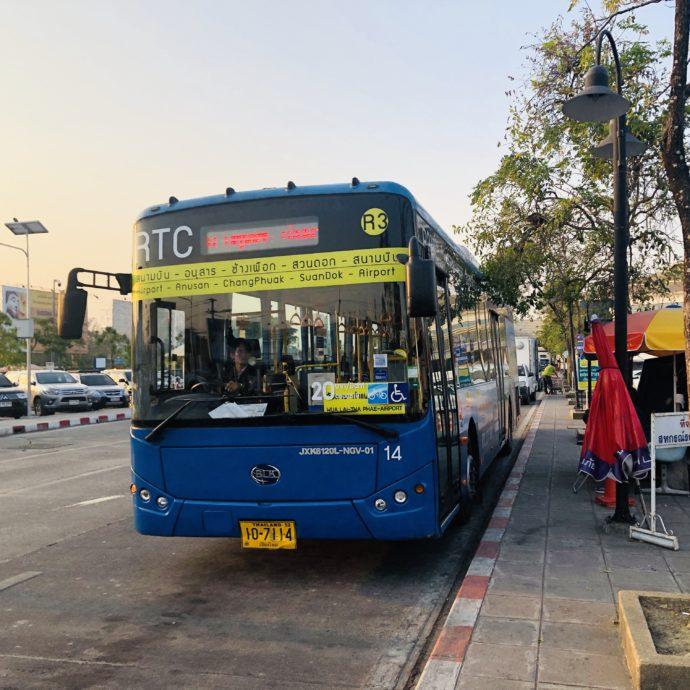チェンマイのループバス
