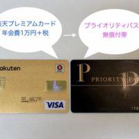 プライオリティパスと楽天カード