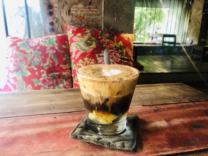 ジンジャークリームコーヒー