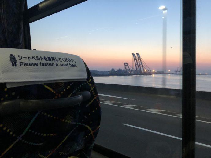 関空大橋から見える空