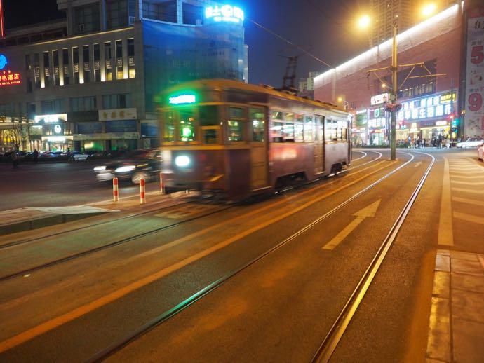 大連を走る路面電車