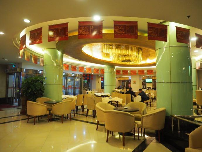 东海明珠美食城の1階フロア