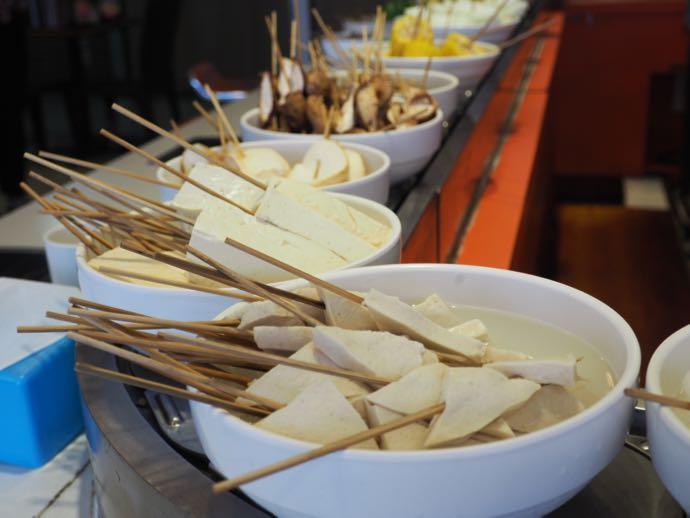 具材の豆腐