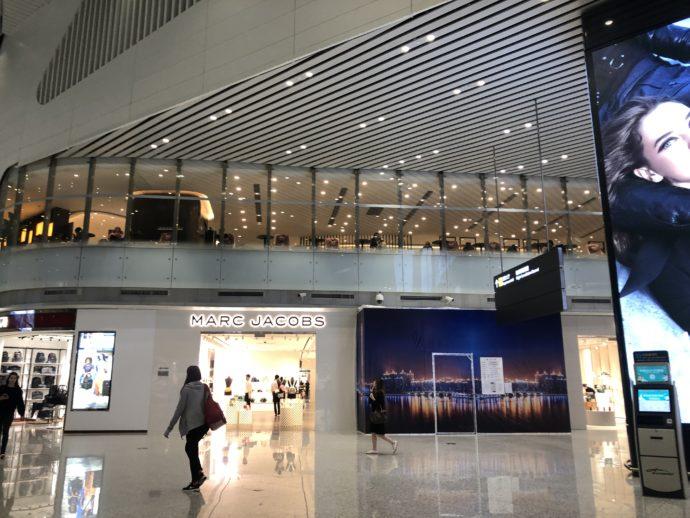 広州白雲国際空港の様子