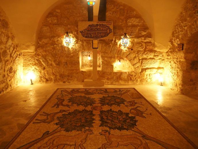 ラテン修道院のモザイク