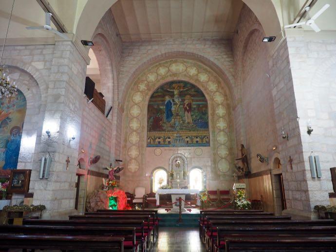 ラテン修道院の礼拝堂