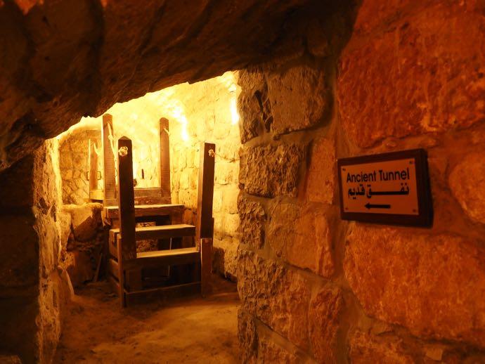 古代トンネルの入り口