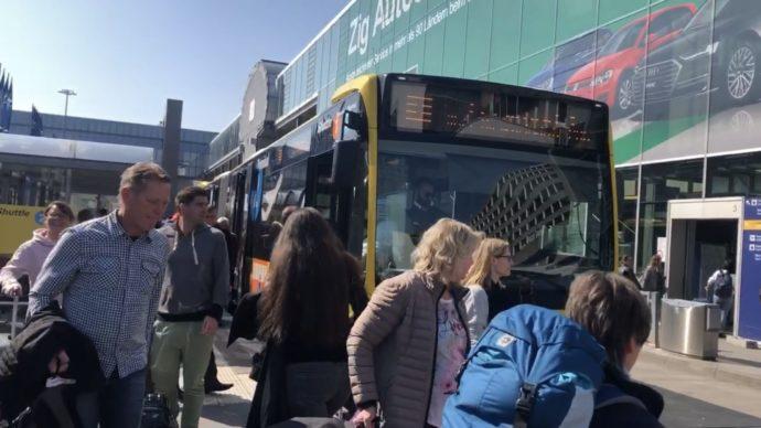 ターミナル間移動シャトルバス
