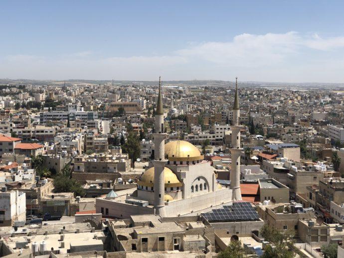 ベルタワーからのマダバ風景