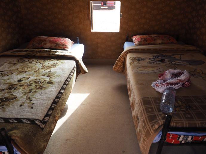 テントの内部