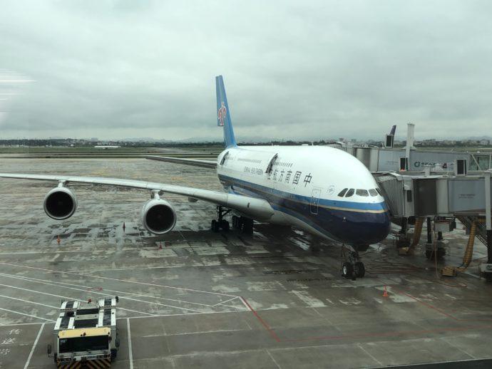 中国南方航空の機体