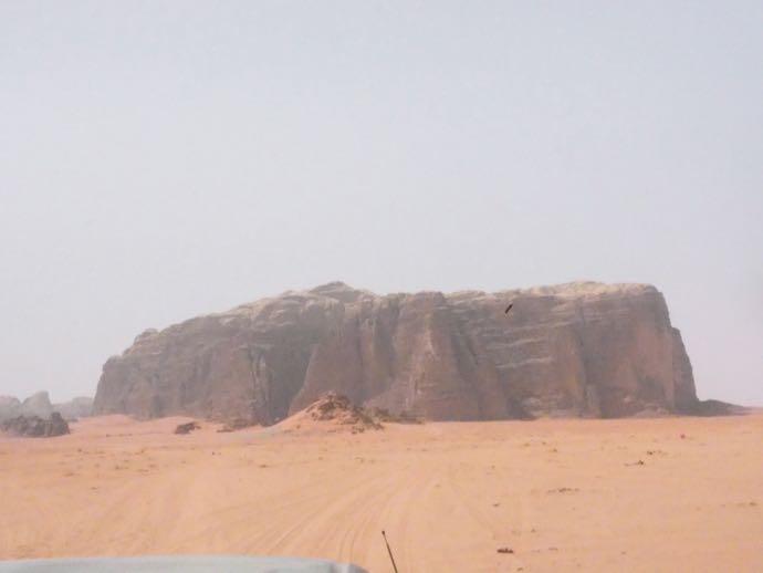 ワディラムの奇岩