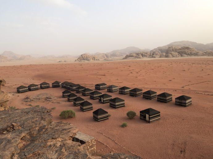 ワディラムのテント