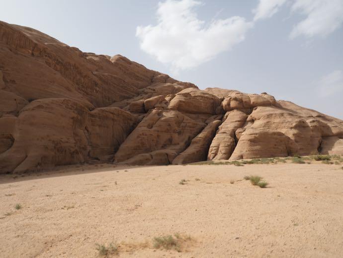 砂漠の奇岩