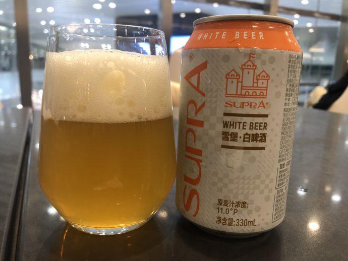 中国のホワイトビール