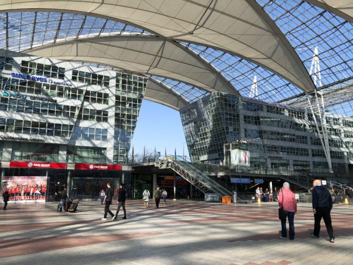 ミュンヘン国際空港到着