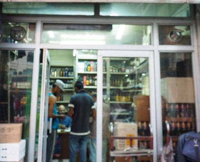 アンマンの酒屋