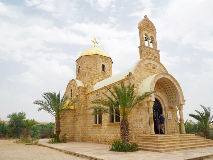 トロピカルな趣のギリシャ正教会