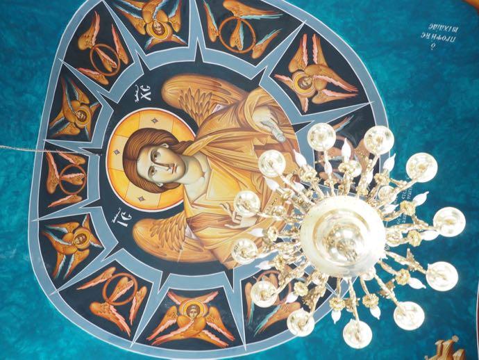 ギリシャ正教会の天井画