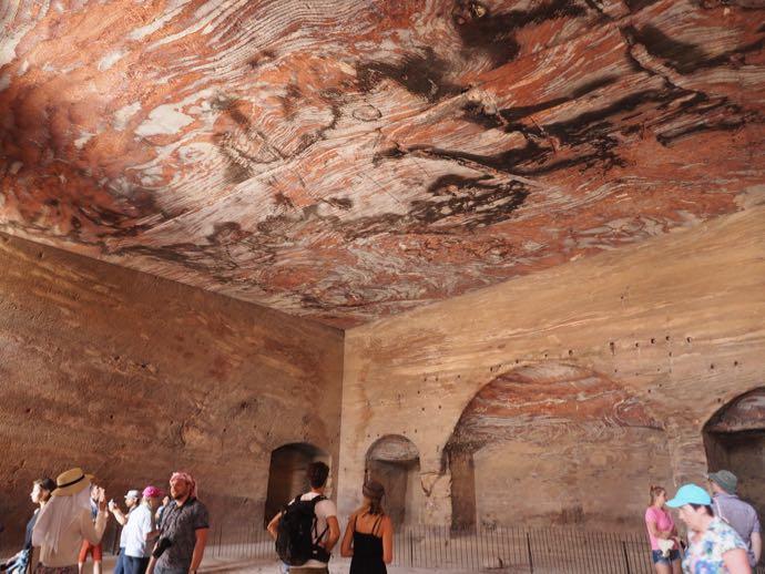 王家の墓の内部