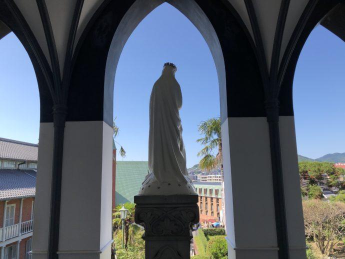 大浦天主堂のマリア像