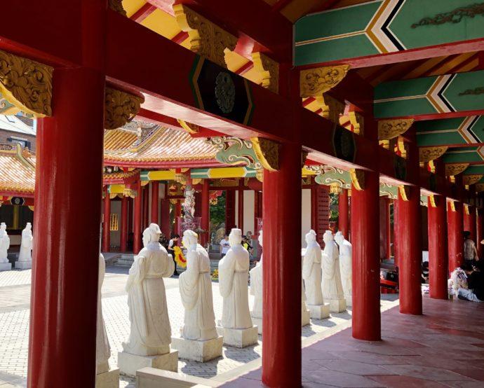 中国風の長崎孔子廟