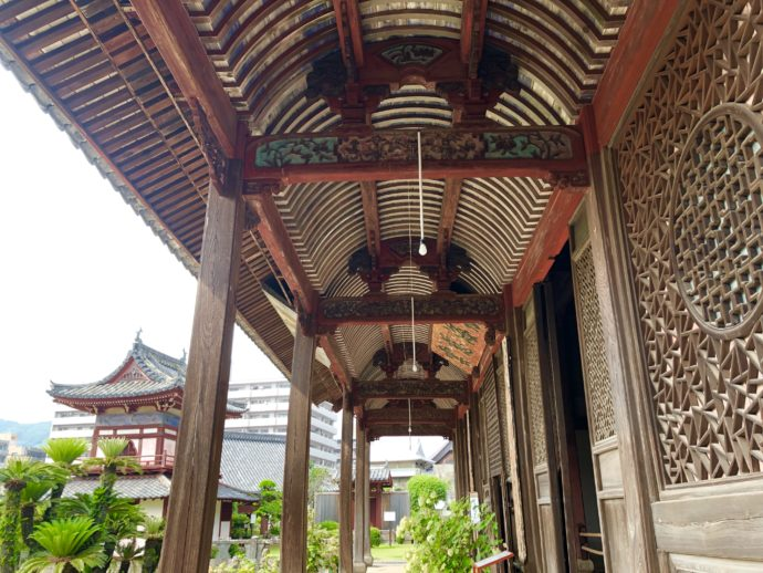 中国様式の天井裏
