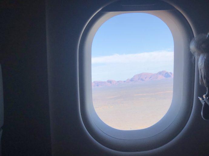 窓から見えるカタ・ジュタ