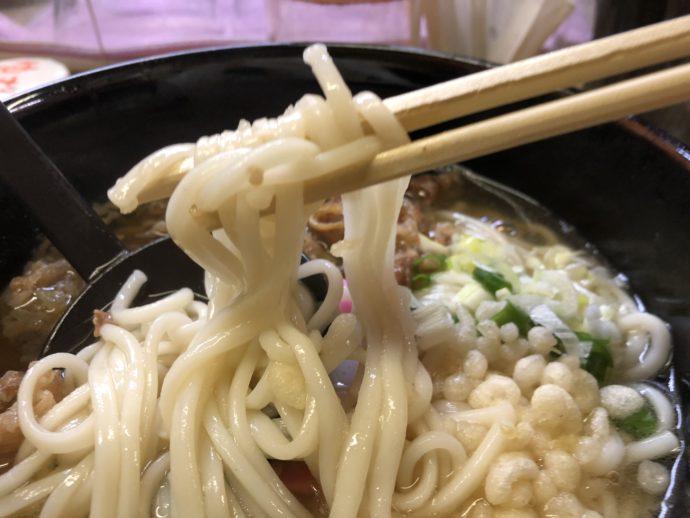 五島うどんの麺
