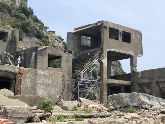 第二竪坑へのエレベーター