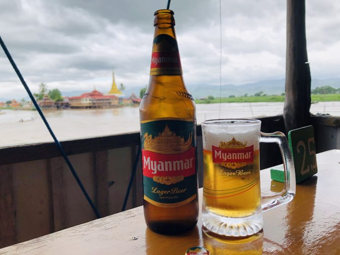 ミャンマー瓶ビール