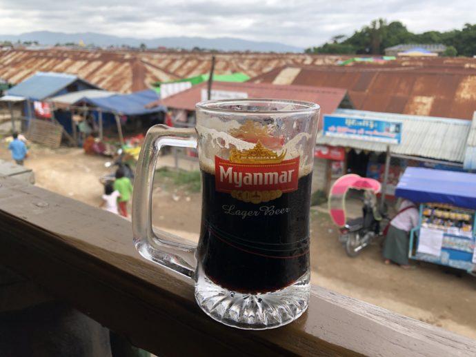 ミャンマーの生ビール