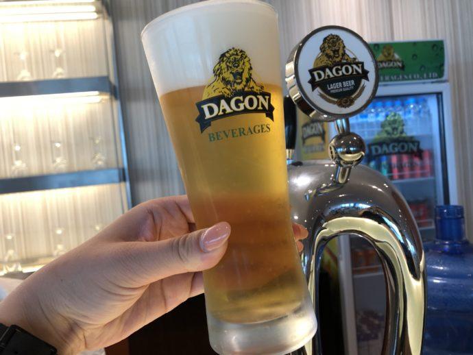 DAGON生ビール